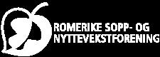 Nettsidelogoen til Romerike sopp- og nyttevekstforening
